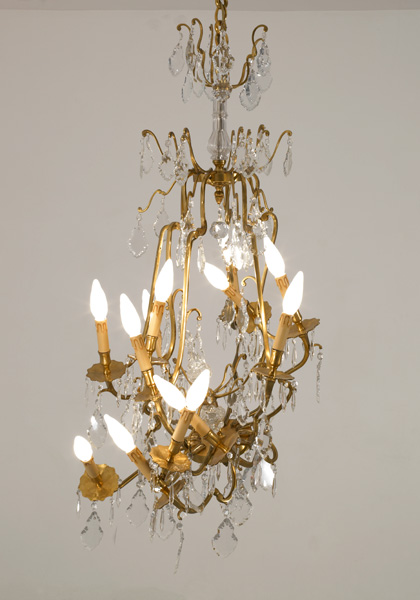 art chandelier, chandelier baroque firman, baroque firman, contemporary baroque art