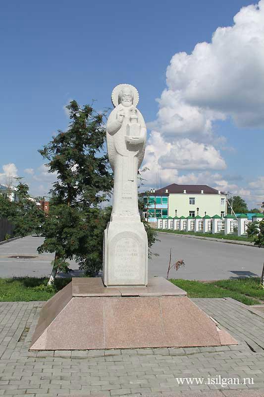 Статуя ледяной член