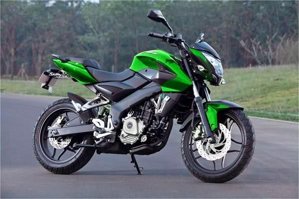 La nueva pulsar 200 NS - verde