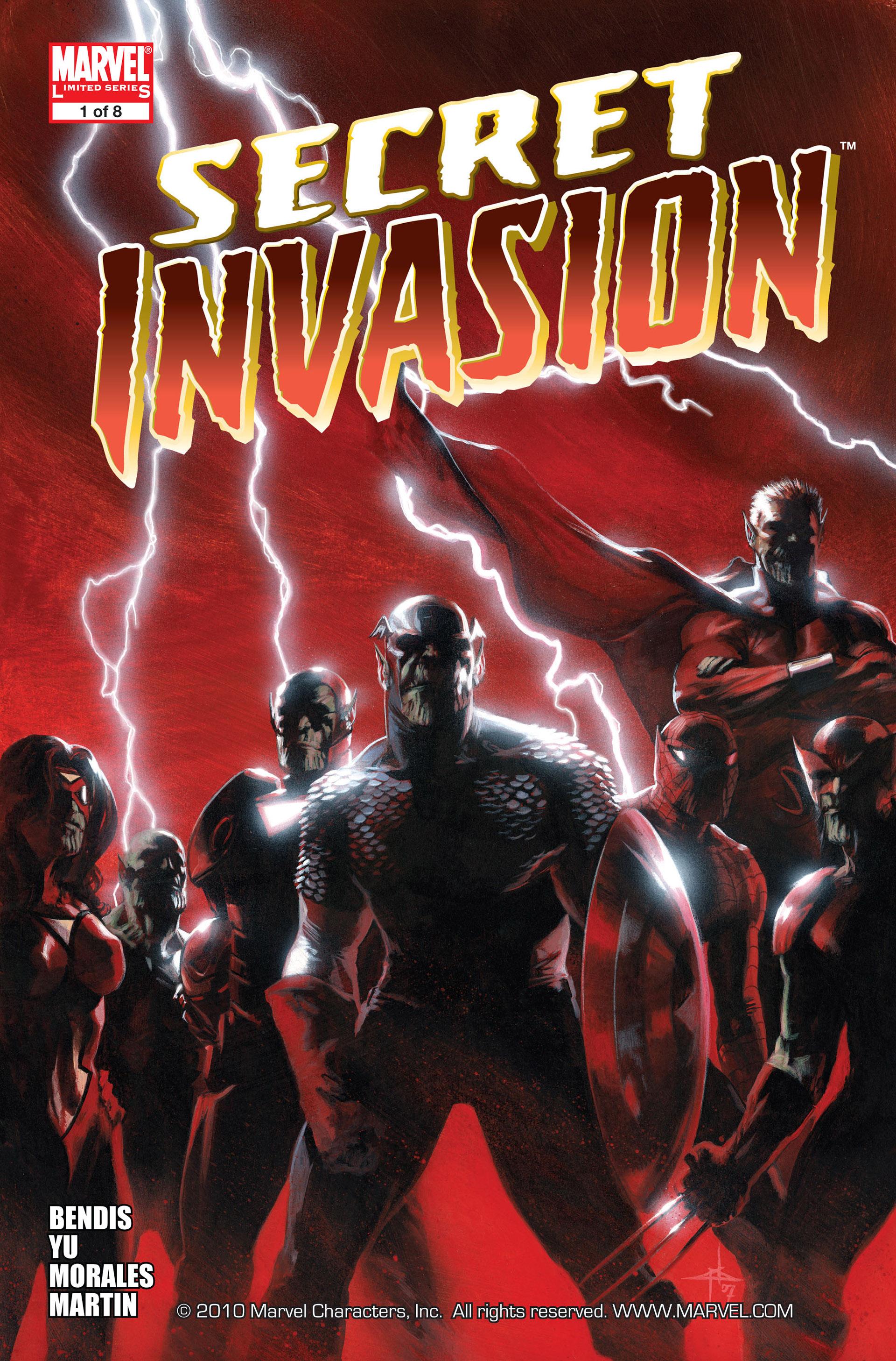 Read online Secret Invasion comic -  Issue #1 - 1