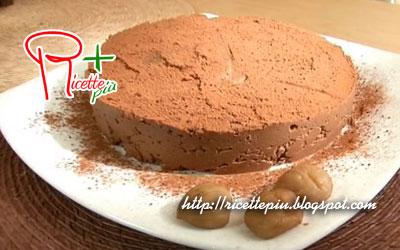 Torta morbida di castagne e cioccolato di Cotto e Mangiato