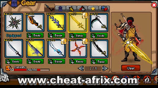 Cheat Weapon Blacksmith House Ninja Saga
