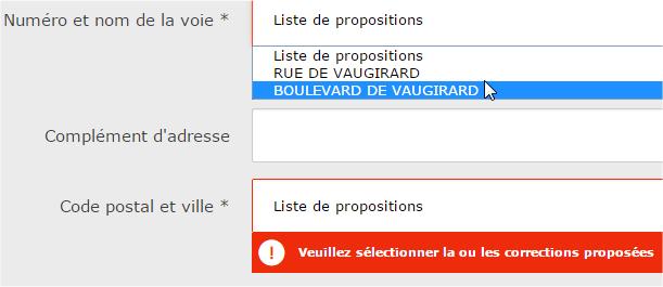 capture d'écran site Web laposte.fr