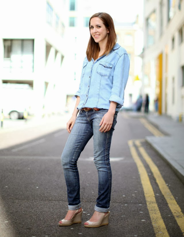 Girl Orb Uk Fashion Beauty Blog Double Denim Outfit