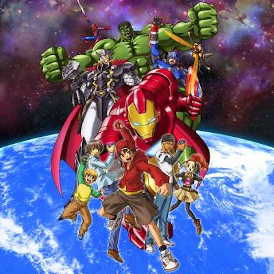 tm revolution opening ending marvel disk wars avengers anime anuncio