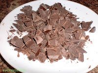 chocolate troceado