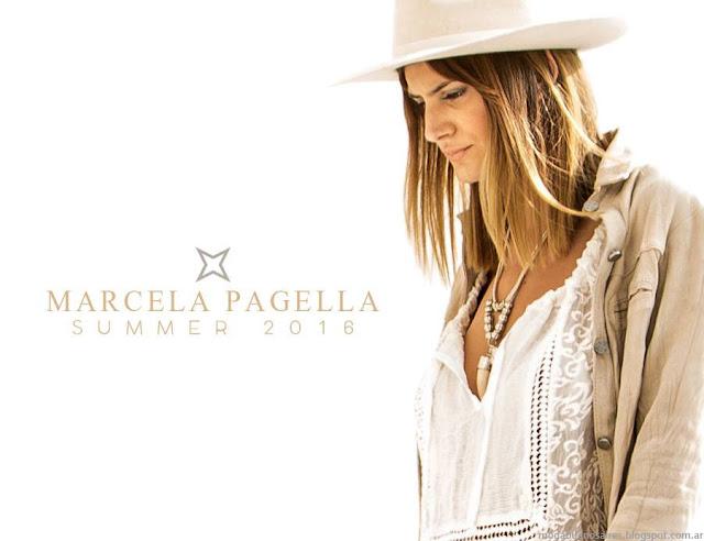 Marcela Pagella primavera verano 2016. Moda primavera verano 2016.