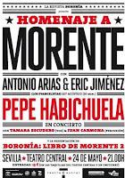 El 24 de mayo de 2012 Pepe habichuela en concierto Homenaje a Morente en Sevilla