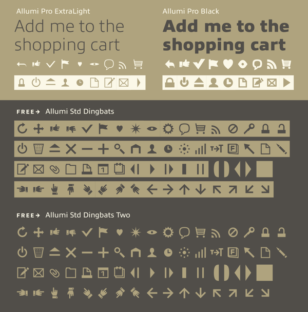 Collection of Free Fonts and Typefaces for August 2013