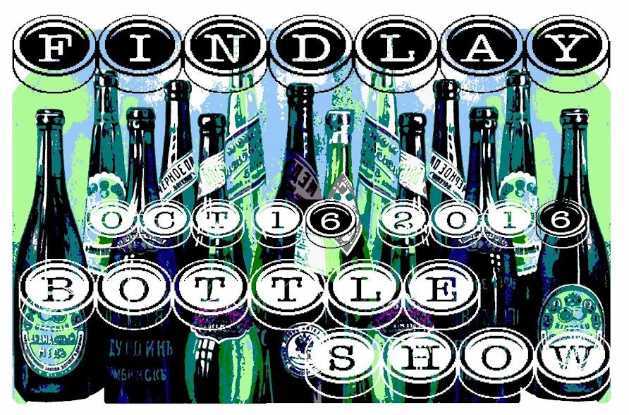 Findlay Bottle Show - Findlay Bottle Club - Ohio - Antique Bottles