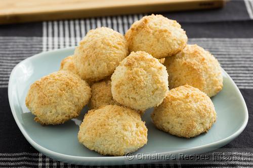 椰絲蛋白球 Coconut Macaroons02