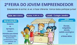 2ª FEIRA DO JOVEM EMPREENDEDOR