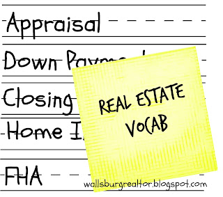 Real Estate Vocab