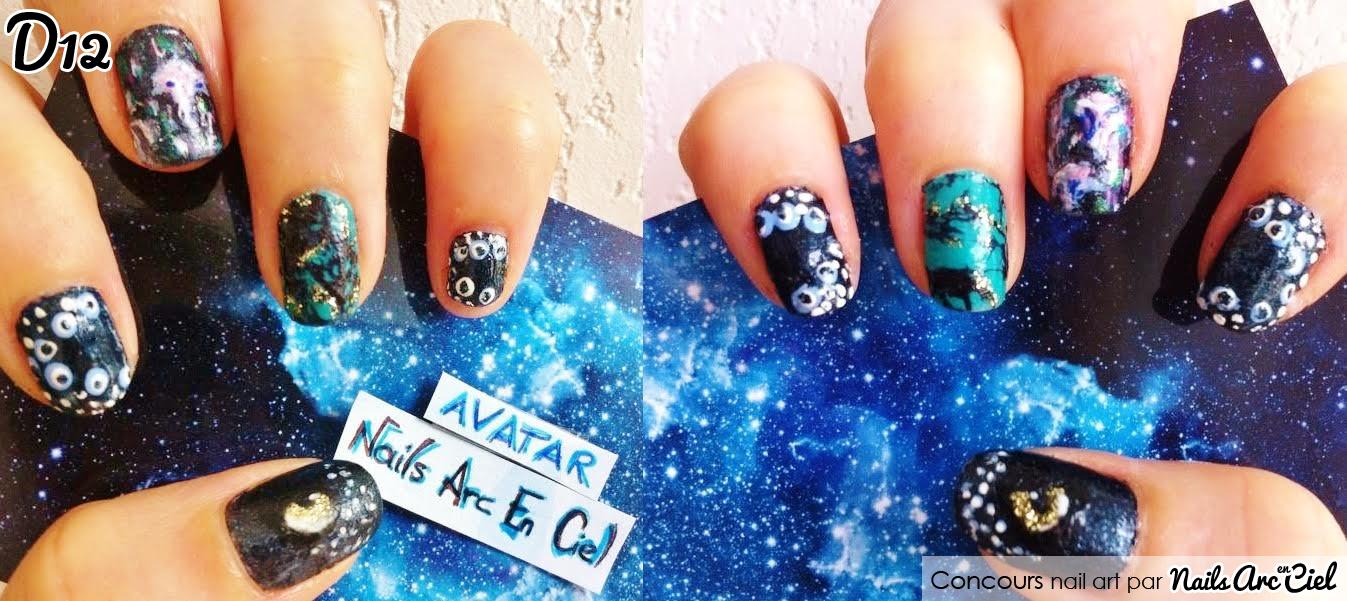 Nails arc en ciel concours nail art avatar for Les nains portent quoi