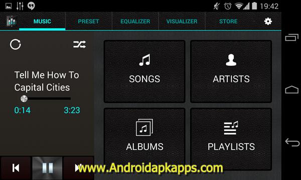 Free Download Equalizer + Pro (Music Player) v0.8 Full Apk