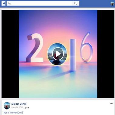 facebook com - müjdat demir - 2016 yılına bakış