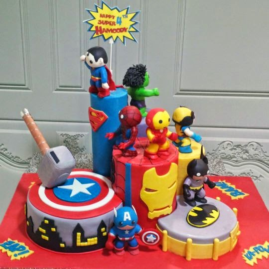 Cake Designs For Kids Birthday Favorite Charcters