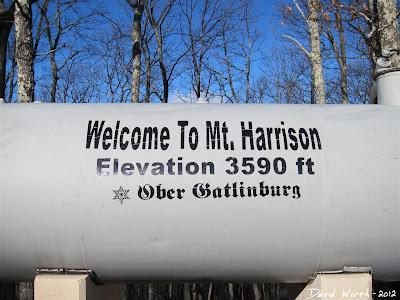 top of mt harrison, ober, gatlinburg