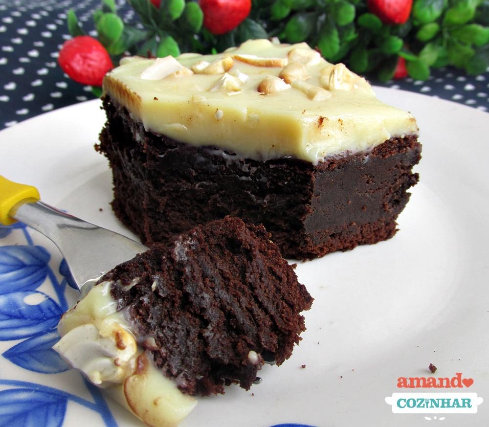 Famosos Brownie Dois Amores   Receita rápida e simples de fazer FV53