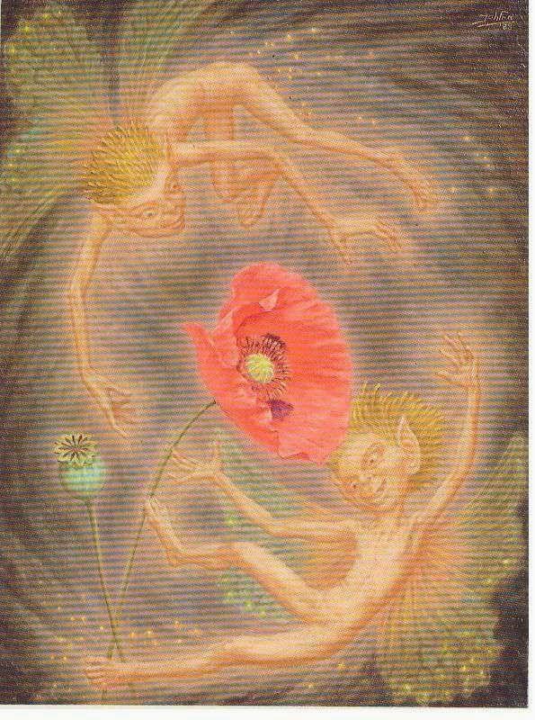 Dance of the Red Poppy by Johfra Bosschart