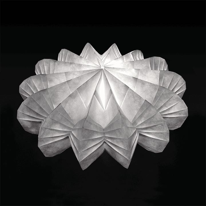 Tyvek Folded Light Art Tyvek Innovative Uses Material