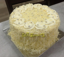 Labuan Cake - White Chocolate Snow Cheese Cake