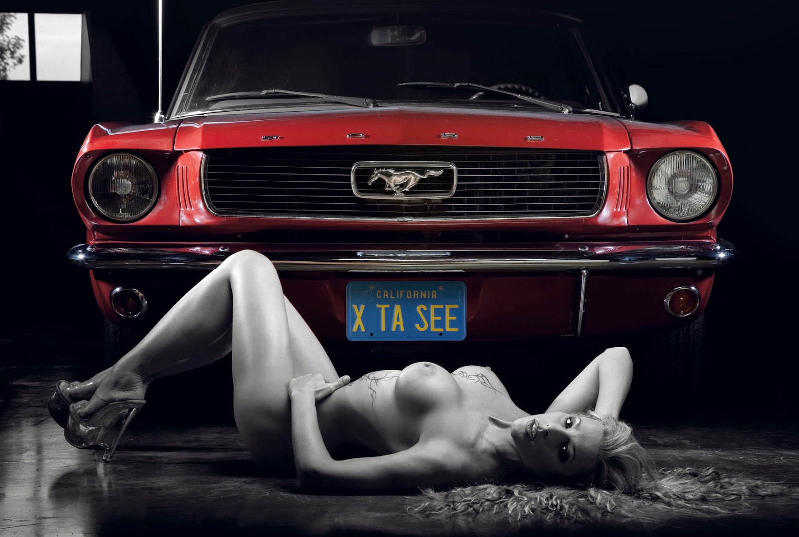 Consider, Naked girls and classic cars