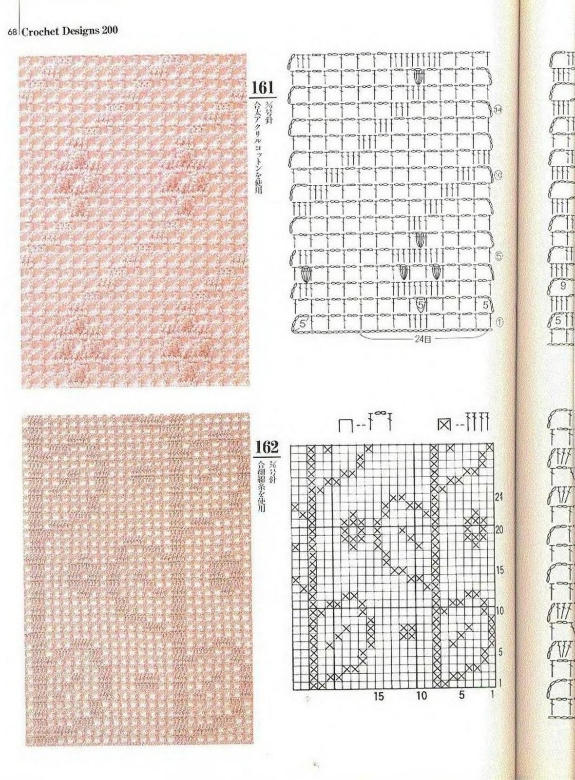 SOLO PUNTOS: Crochet filet