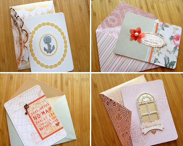 sei lifestyle: Love Letter Notecards with Coordinating Envelopes