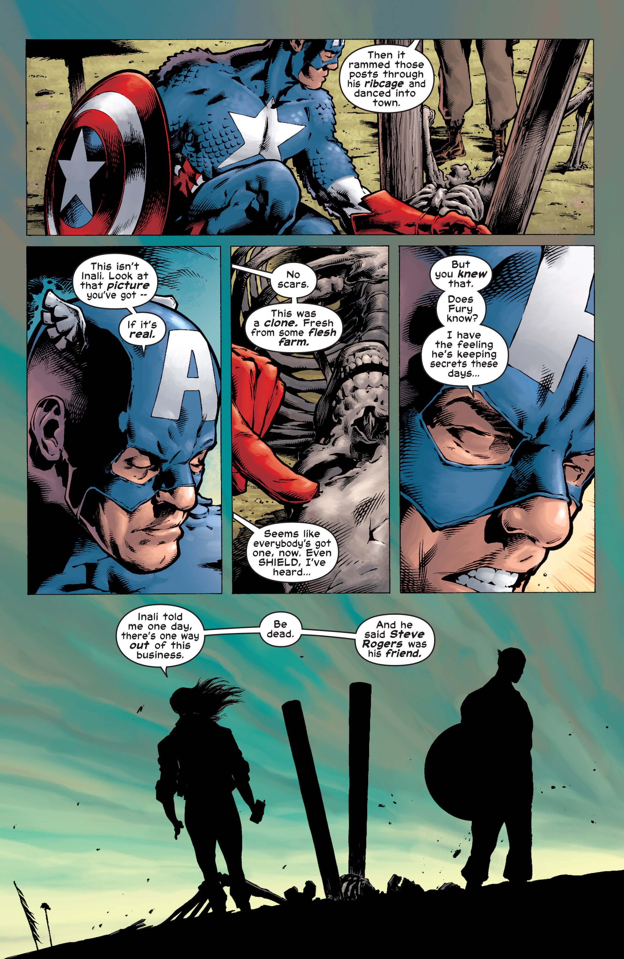 Captain America (2002) Issue #7 #8 - English 20