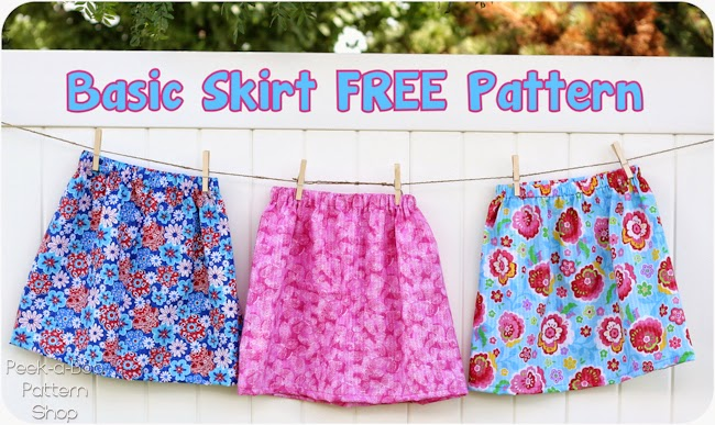 Basic Girls Skirt Sewing