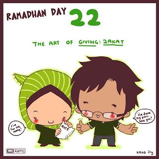 cute doodle ramadhan