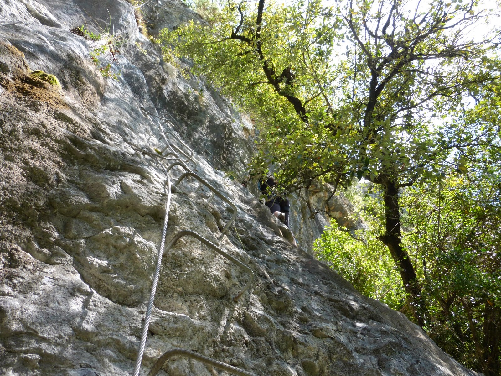 Via ferrata el Risco