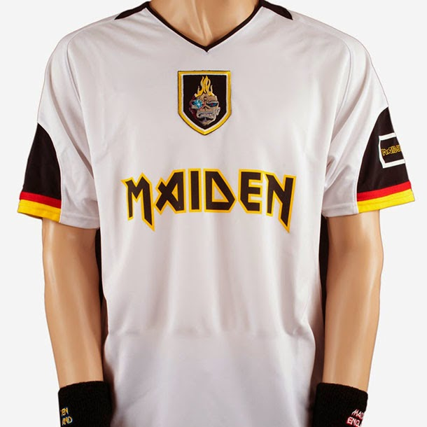 Camisas do Iron Maiden para Copa do Mundo