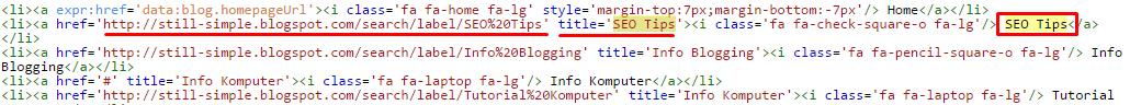 Cara Memasang Title Tag SEO Untuk Setiap URL Di Blog