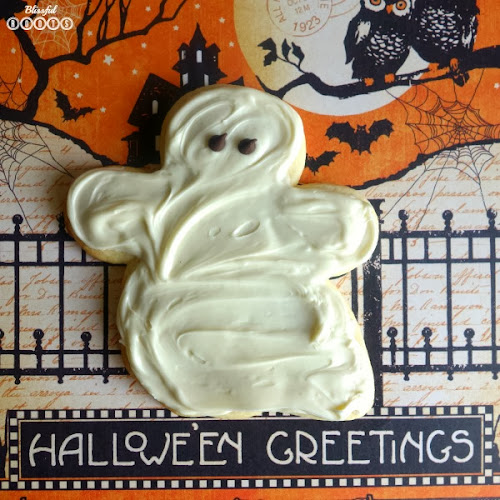 Ghost Sugar Cookies @ Blissful Roots