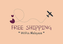 Free Shipping - Malaysia Only