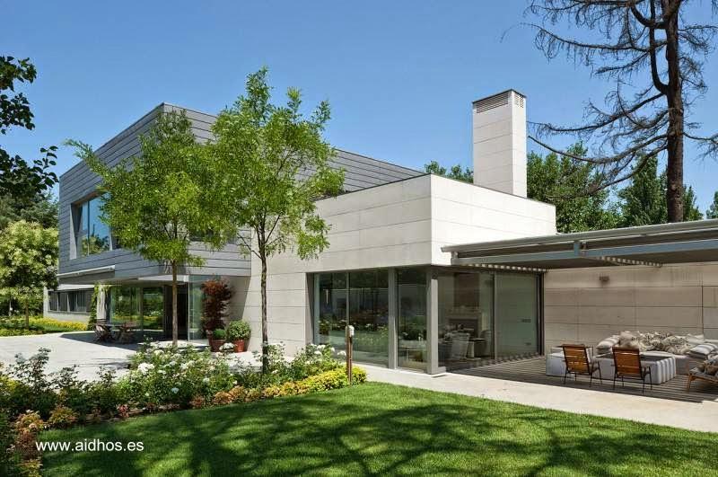 Arquitectura de casas 14 dise os de casas modernas en espa a - Benjamin cano arquitecto ...
