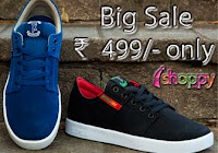 Buy Footwear's at just Rs.499 with Free Shipping at Ishoppy