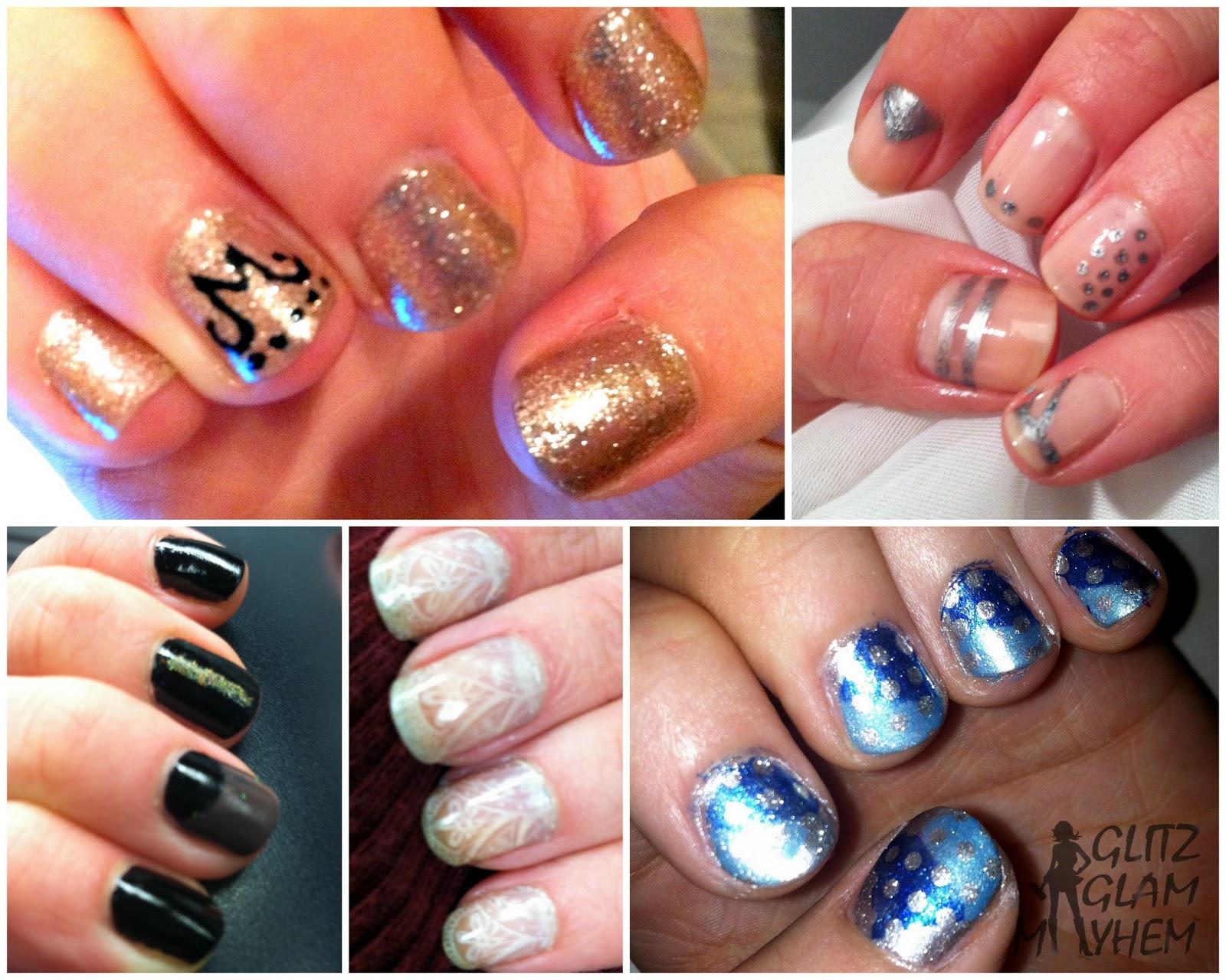 name nail designs