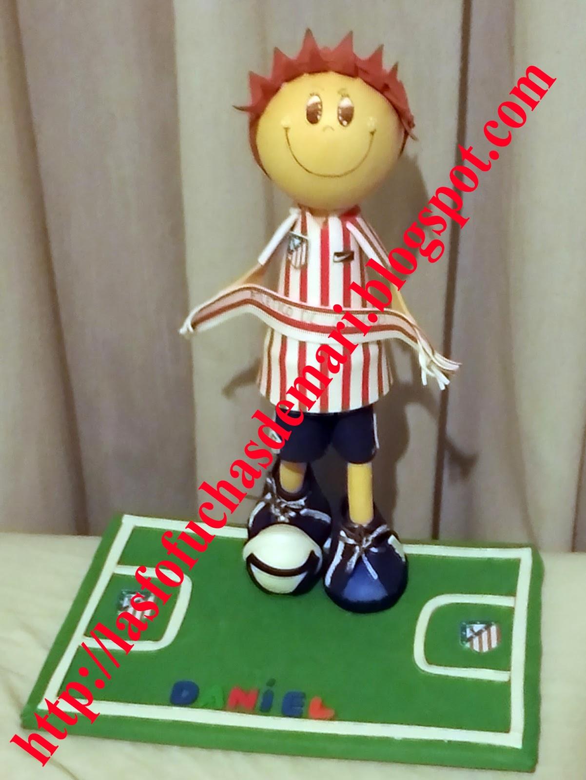 Jugador de fútbol personalizado - Daniel