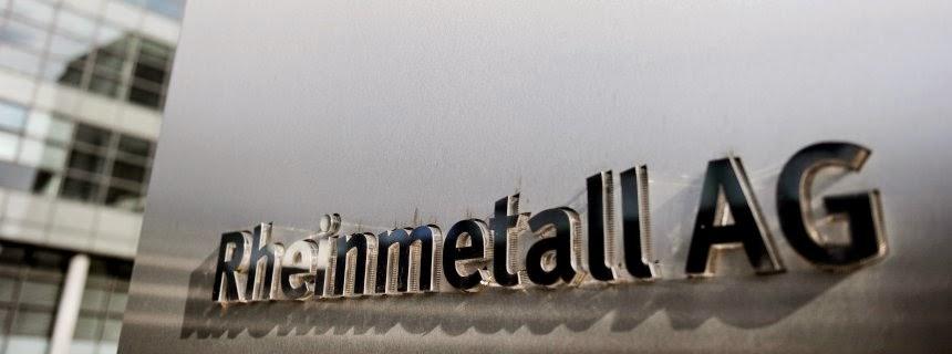 Η αμυντική βιομηχανία όπλων Rheinmetall παραδέχτηκε ότι έκανε δωροδοκίες
