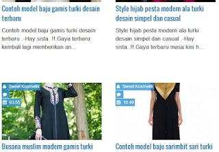 Model baju muslimah turki fashion busana muslim masa kini