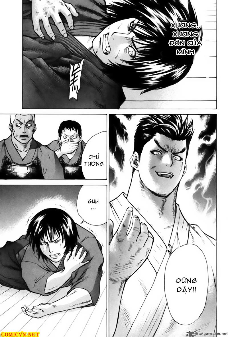 Karate Shoukoushi Kohinata Minoru chap 27 Trang 15