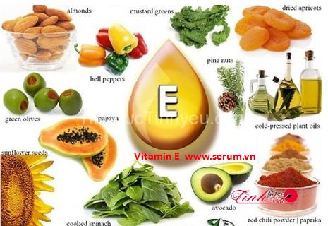 Tác dụng của Vitamin E sức khỏe