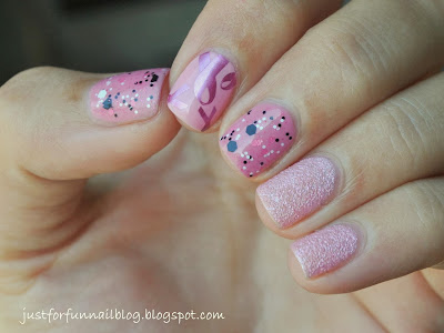 My October Awareness Month Pink Mani