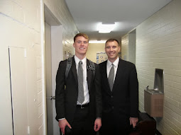 Elder Brendon Foster & Brother Aaron Blum (2nd Cousins)