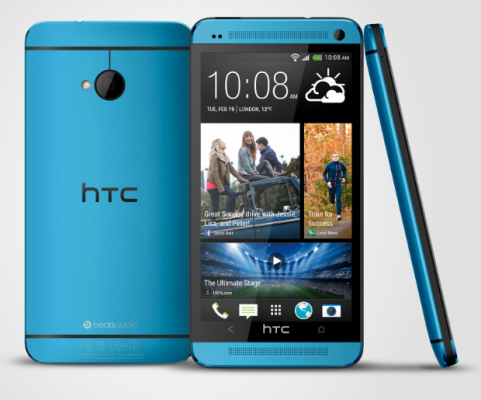 HTC One and One Mini in Vivid Blue Confirmed for Q4 Release