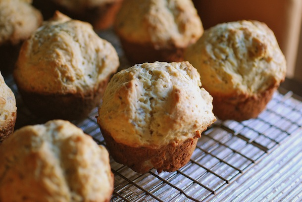 Caraway Irish Soda Bread Muffins - Always Order Dessert