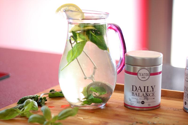 thé pour detoxification du corps